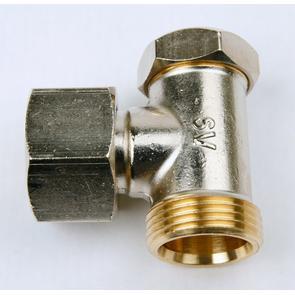 Festventil IBC Tankventilanschluss 60 mm plus 6 Punkte 90 Grad