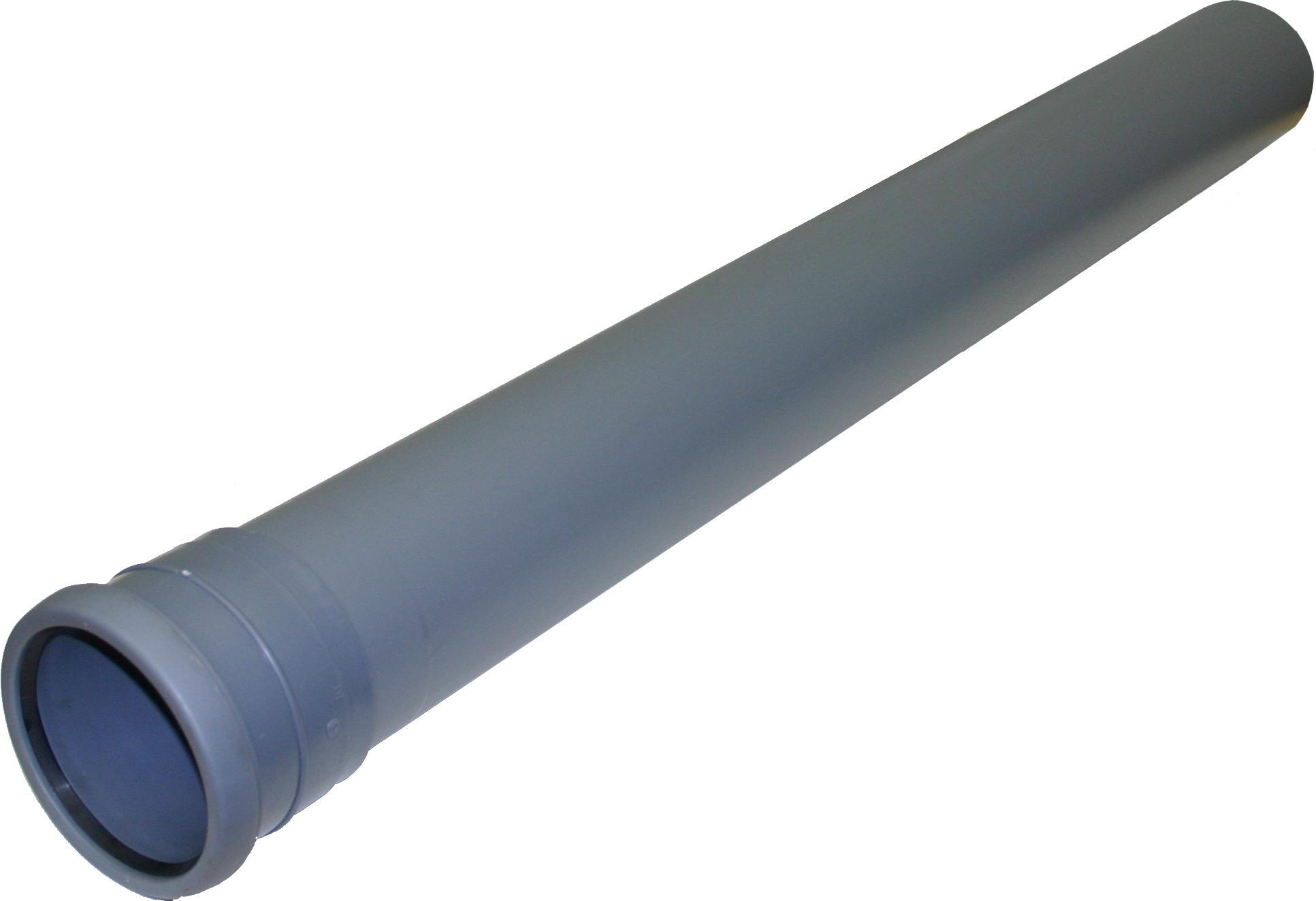 Helt nya Nordic, Rör, 1 muff, grå, 75mm   Markavlopp - PVC- och PP-rör - FC-98