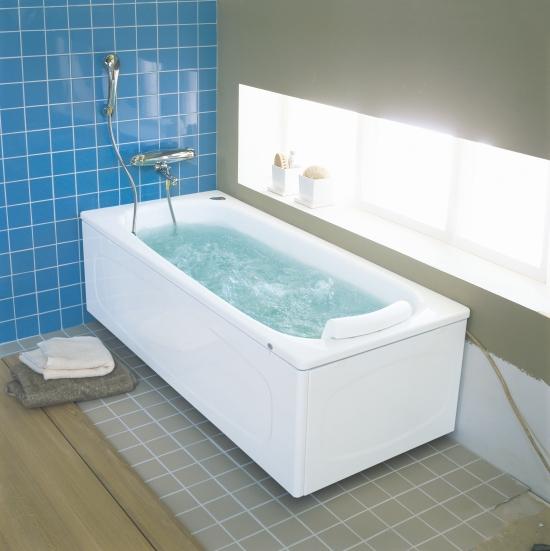 badkar med bubbel