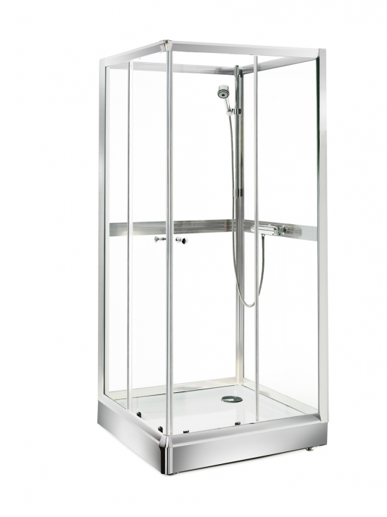 Attraktiva Gustavsberg duschkabin nordic 80x80 cm   Duschkabiner - Dusch - WB-03