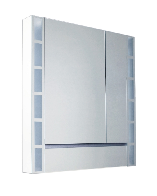 Ifö, Option 90, Spegelskåp, med belysning Duschutrustning D